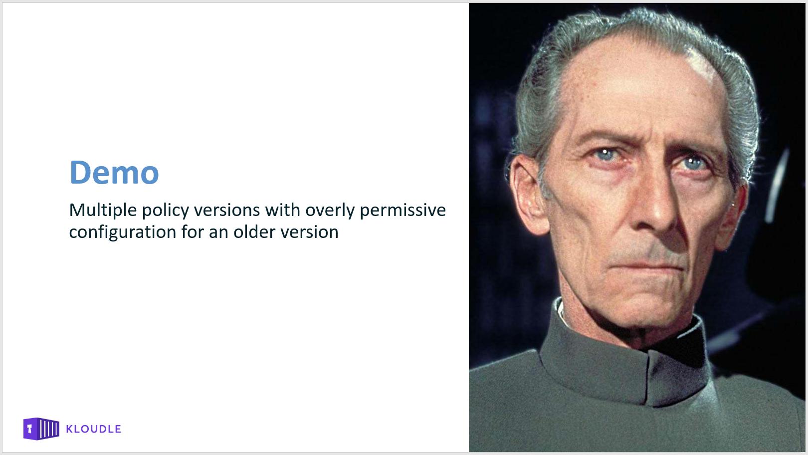 Demo introduction slide