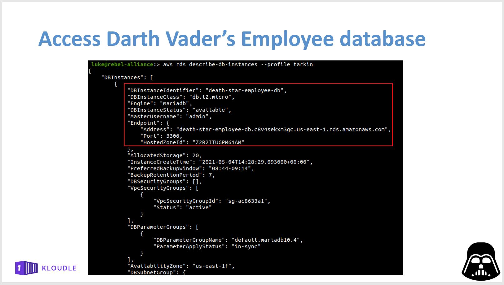 Privilege Escalation to login to enumerate database