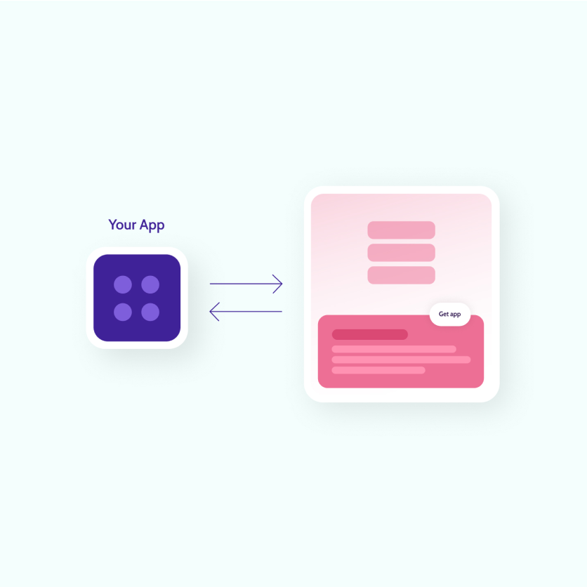 Your app connecting to any other app so your customers can self-serve