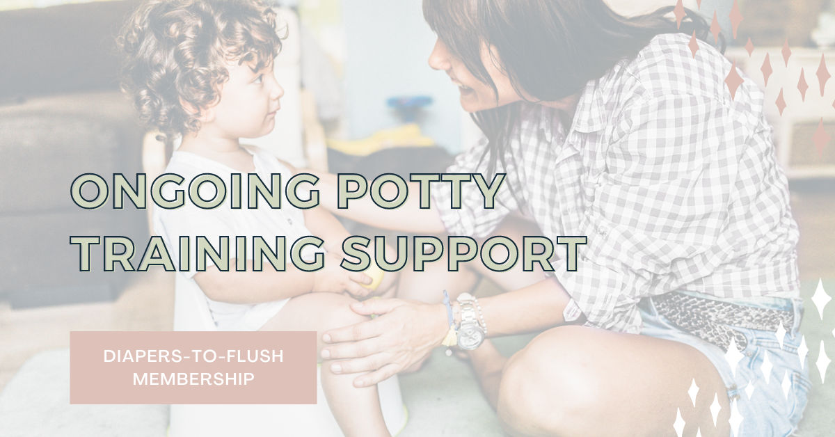 Ongoing Potty Training Support Diapers to Flush The Potty School