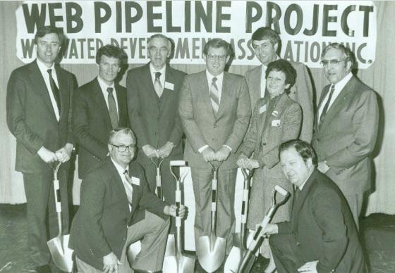 historical WEB pipeline photo