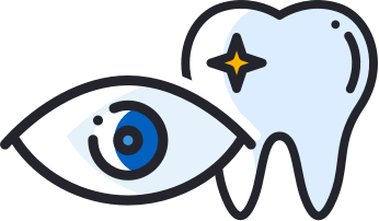 eye and tooth icon