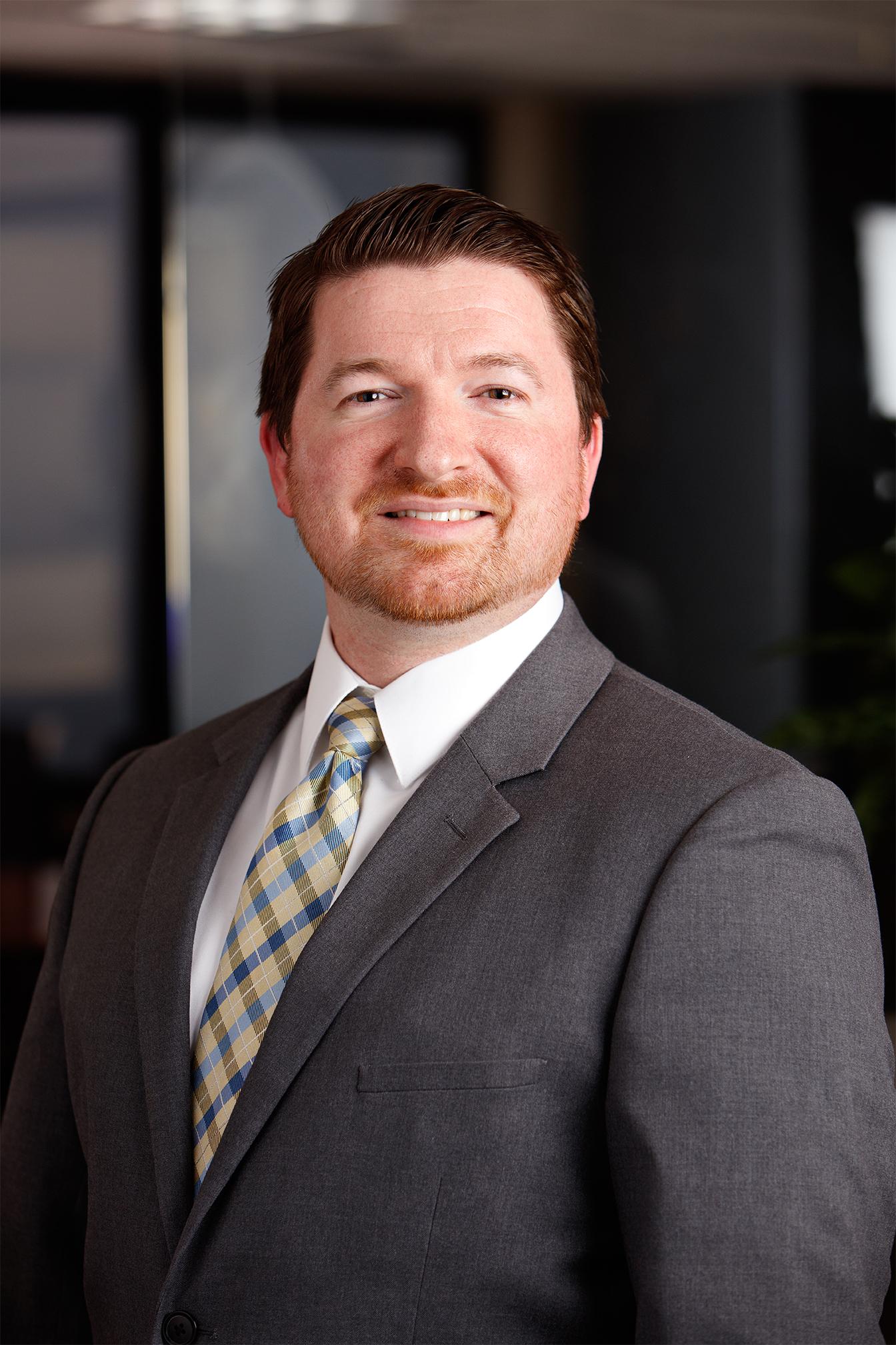 Portrait of EDCUtah Vice President of Research & Marketing, Matt Hilburn