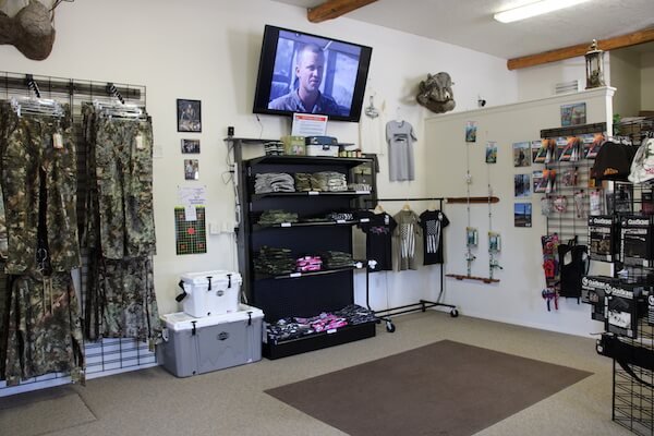 Interior image of the Council Guns store.
