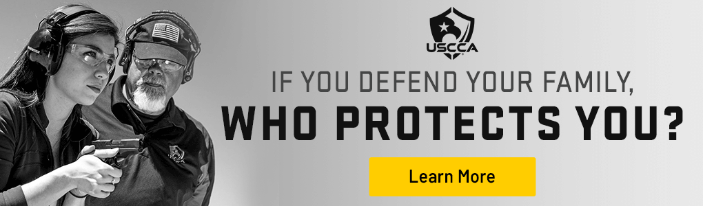 USCCA graphic for protecting your family.