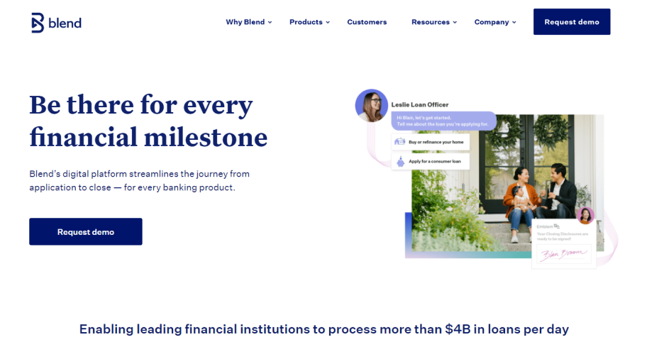 Blend website image