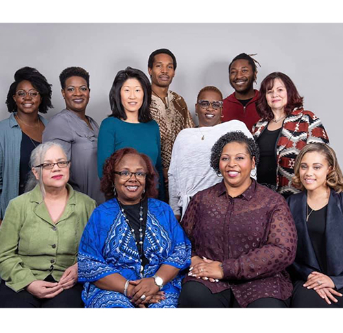 Therapist of Color Collective group photo of therapists