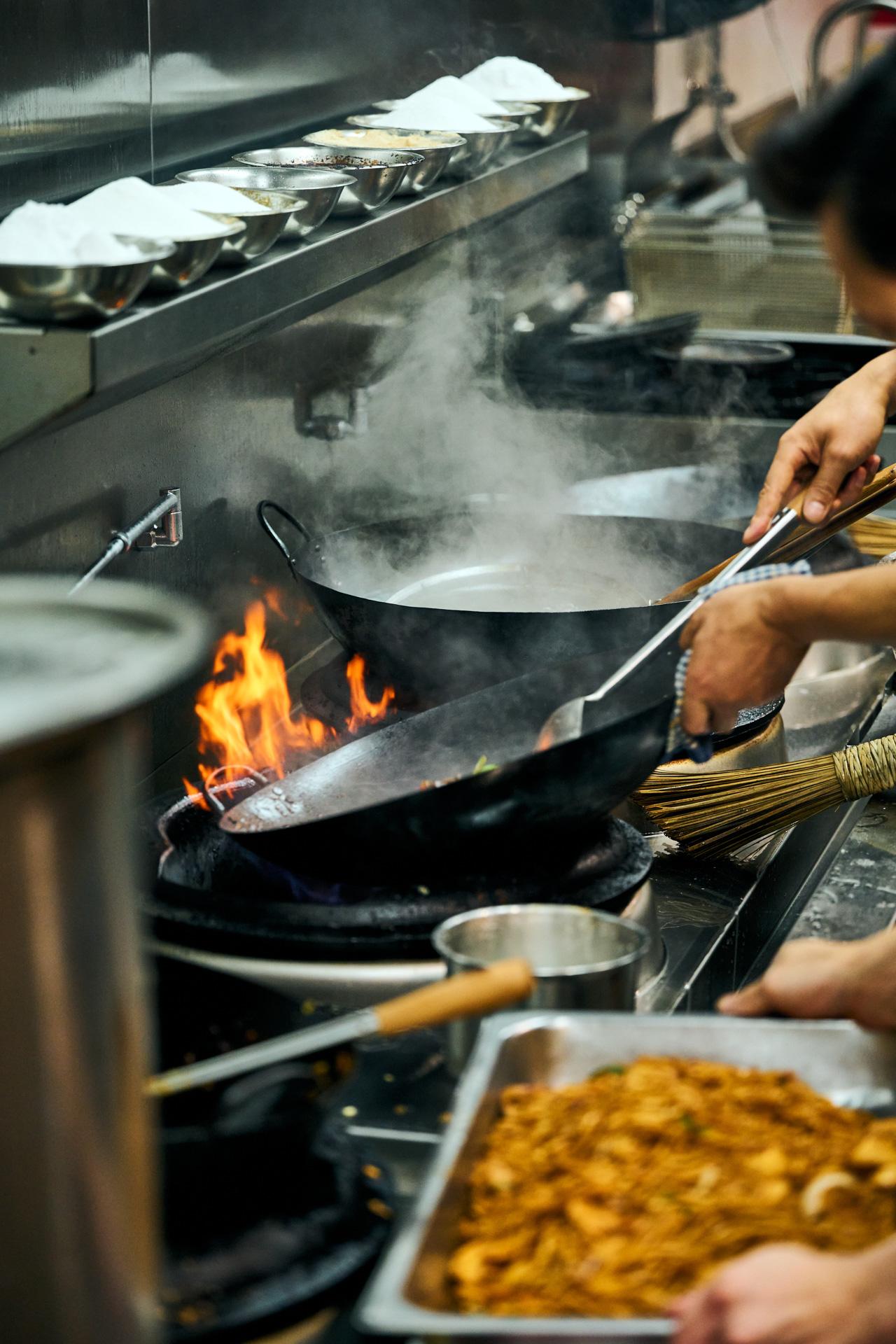 Image of the Dumplings Plus Kitchen.