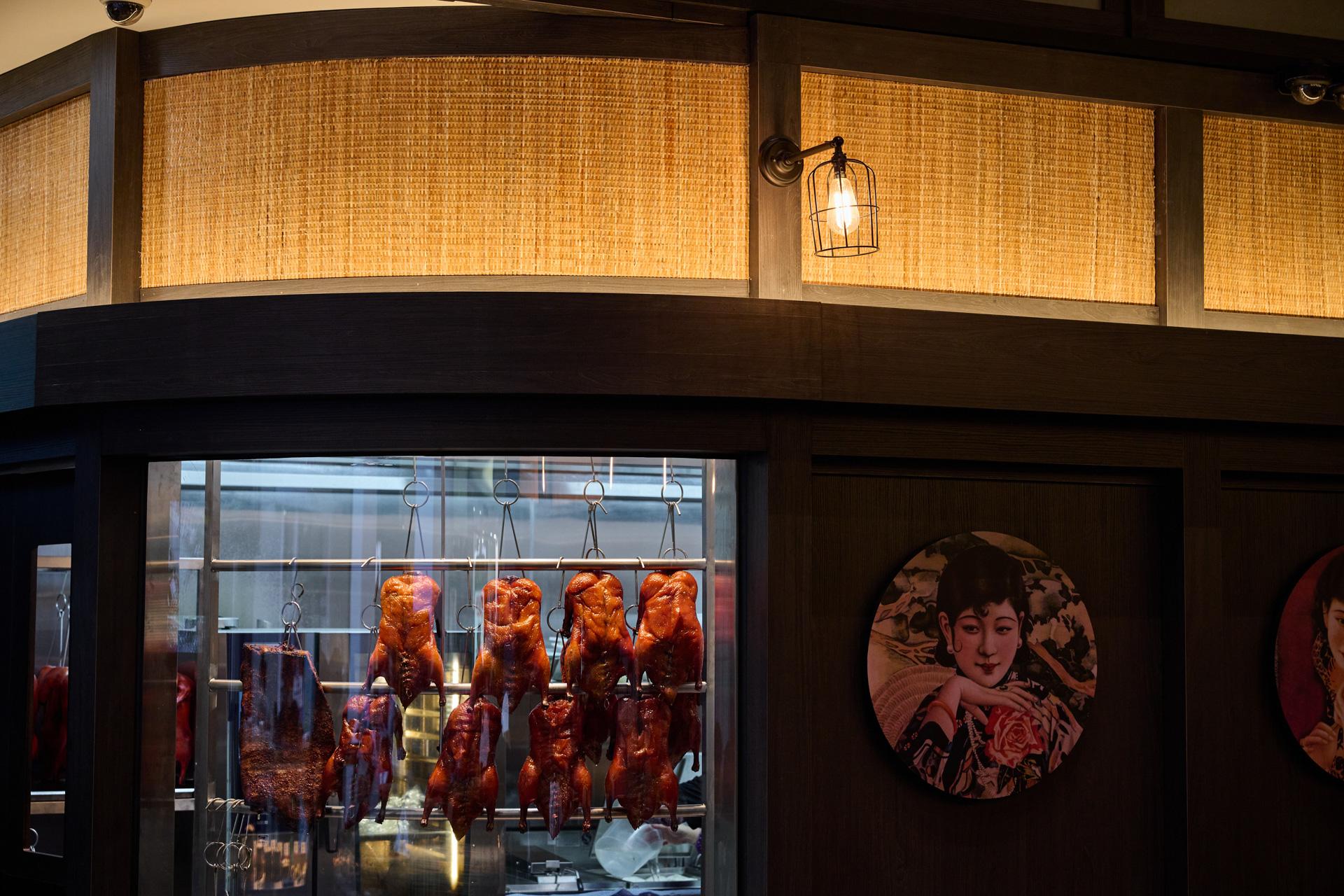 Interior image of Dumplings Plus restaurant.