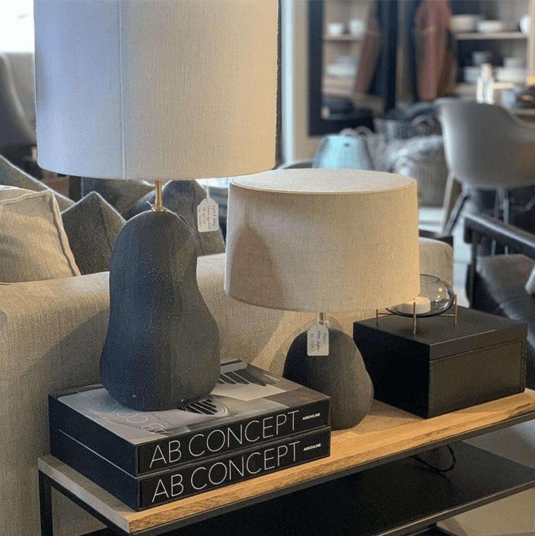 Butikk - detaljer og lampe