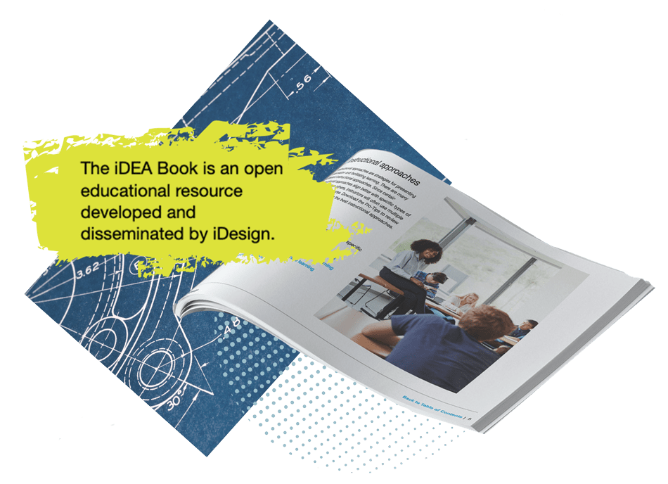 The iDEA Book is an open educational resource developed and disseminated by iDesign.