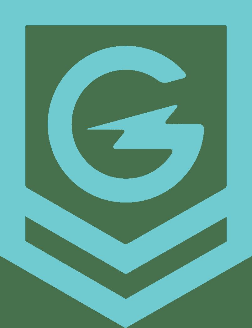Geek Powered studios badge transparent