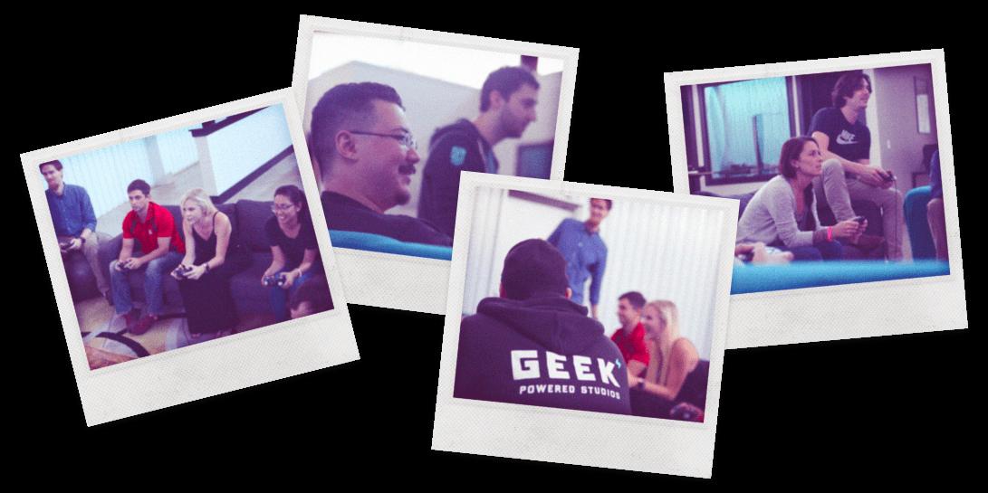 Geeky Polaroids