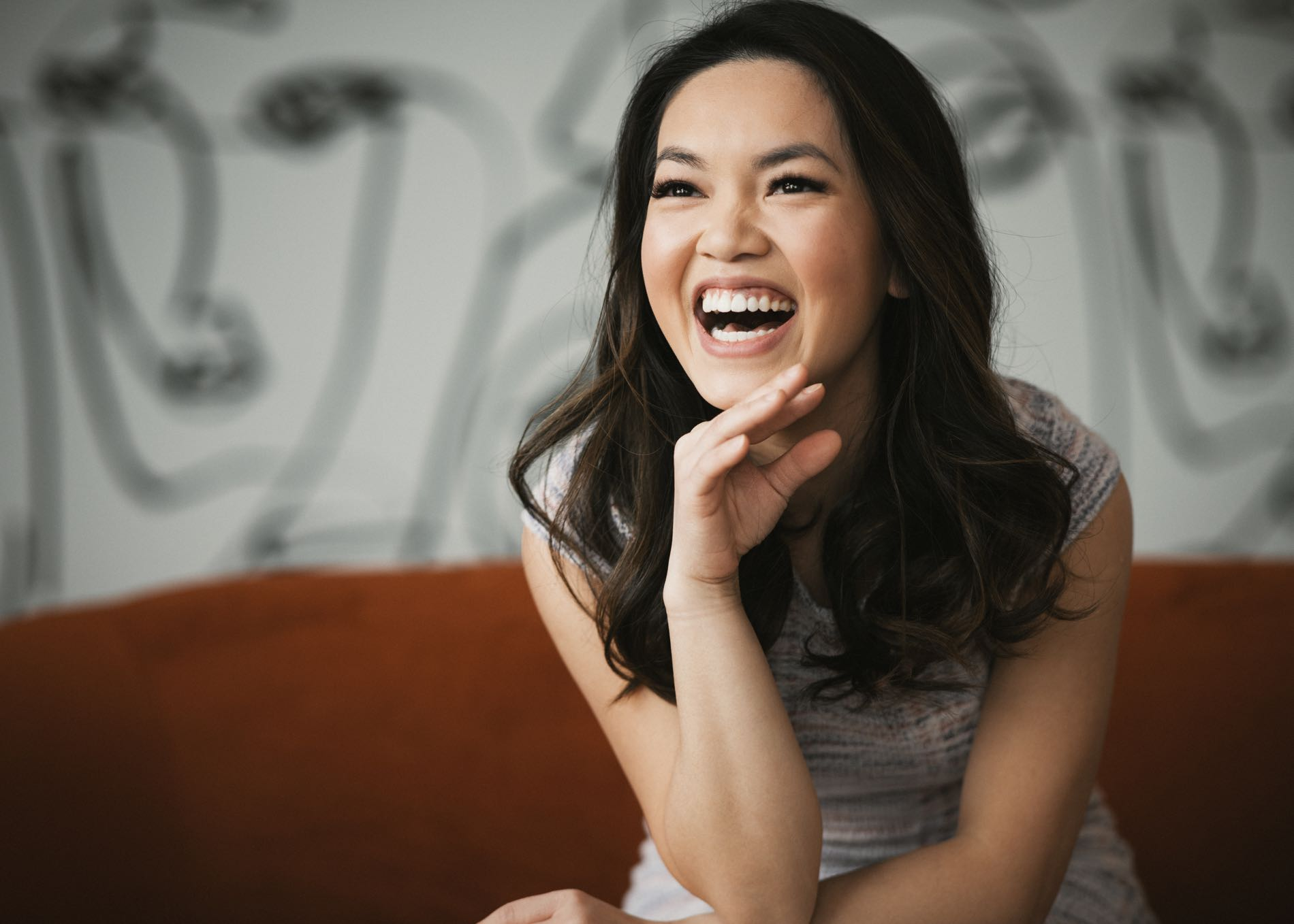 Photo of Dr. Bella laughing