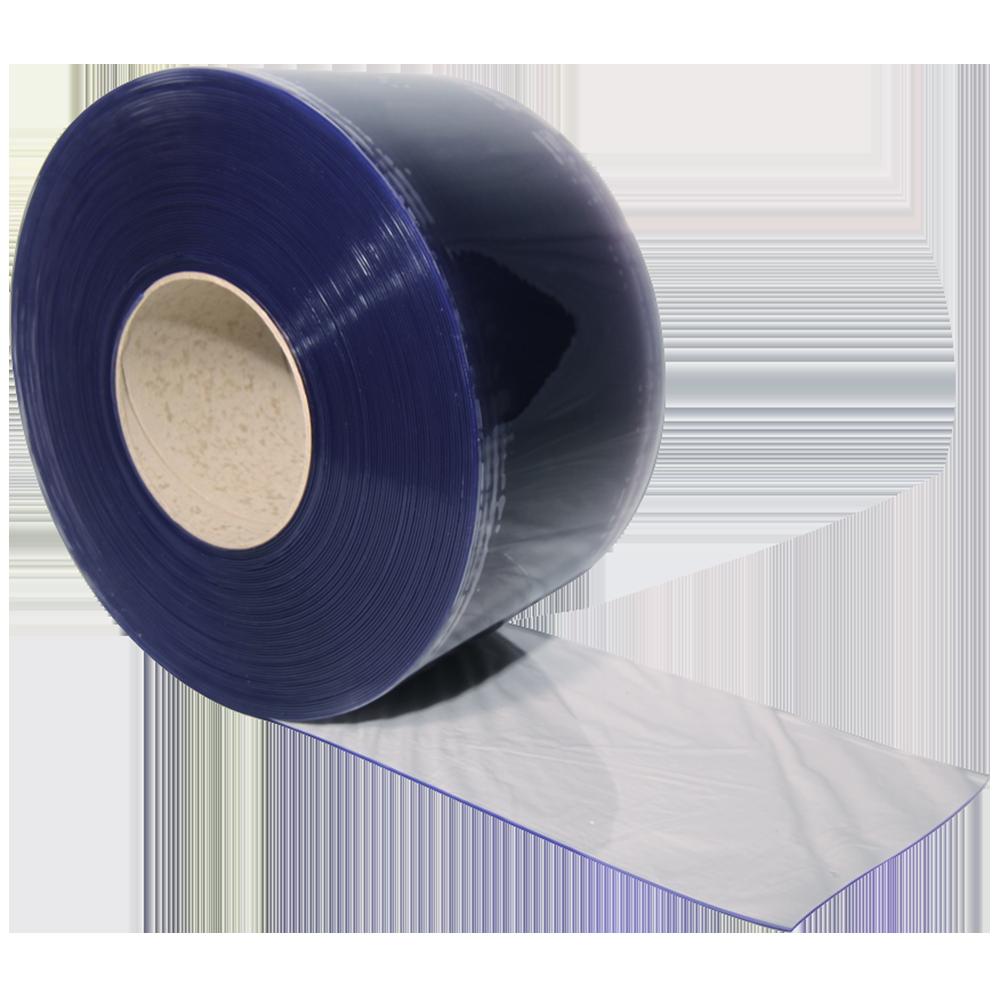 72MM X 100M BLUE ON CLEAR TAMPERPROOF (24RL/CS)