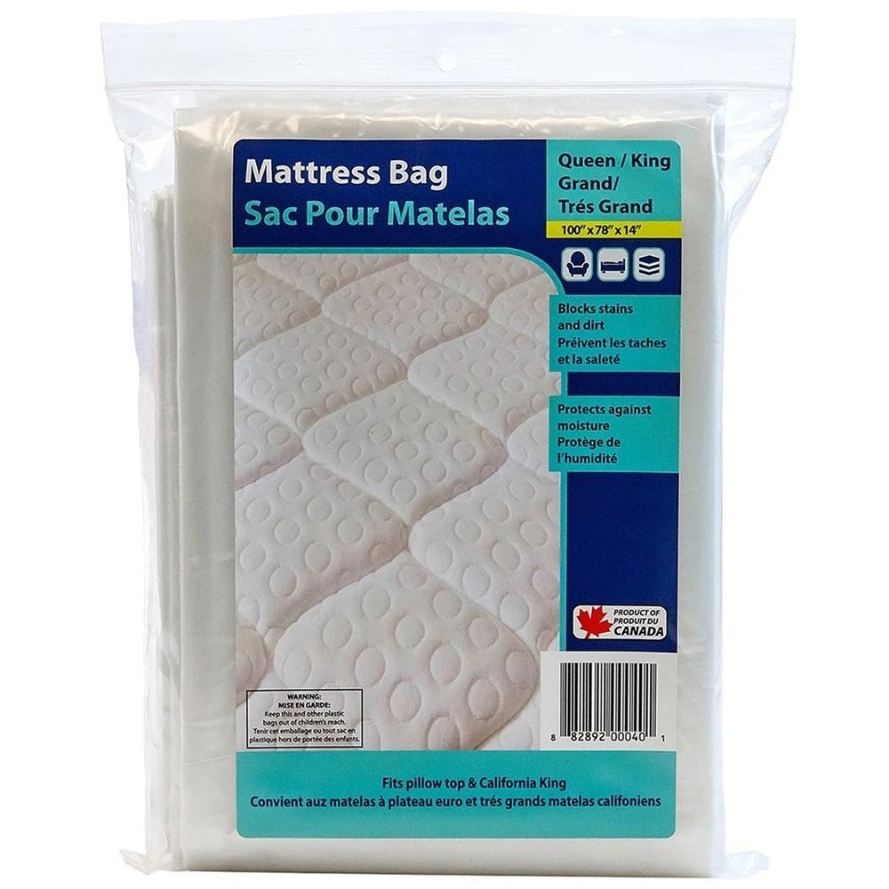 78 X 14 X 100 1.5MIL Q/K MATTRESS COVER CLEAR BAG