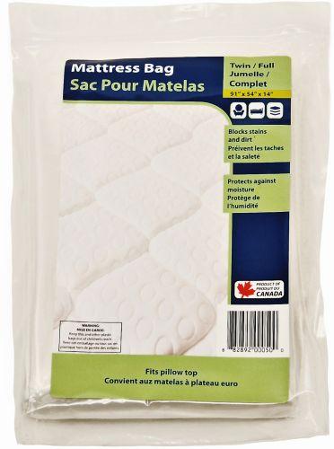 54 X 14 X 91 1.5MIL T/F MATTRESS COVER CLEAR BAG