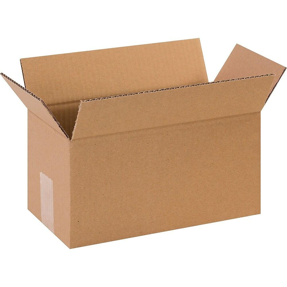 12 X 6 X 6 29C RSC PLAIN CORRUGATED BOX