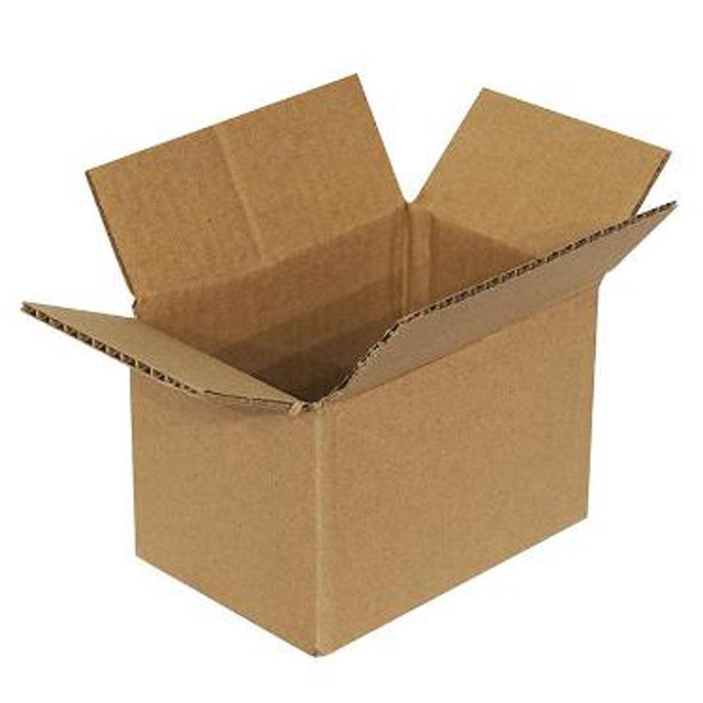 9 X 6 X 6 40C RSC PLAIN CORRUGATED BOX