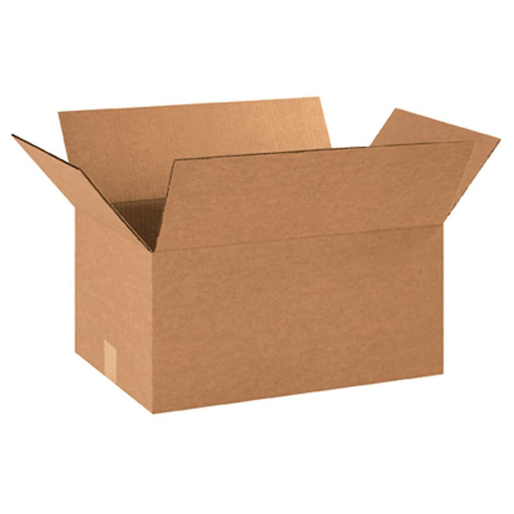 18 X 12 X 9 32C RSC PLAIN CORRUGATED BOX