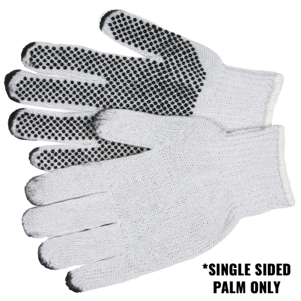 SEAMLESS KNITTED WHITE GLOVE CUT LEVEL 5 - X LARGE