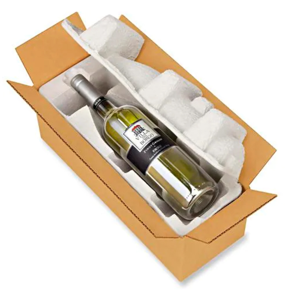 1 Pack Wine Pulp Tray CLAMSHELL