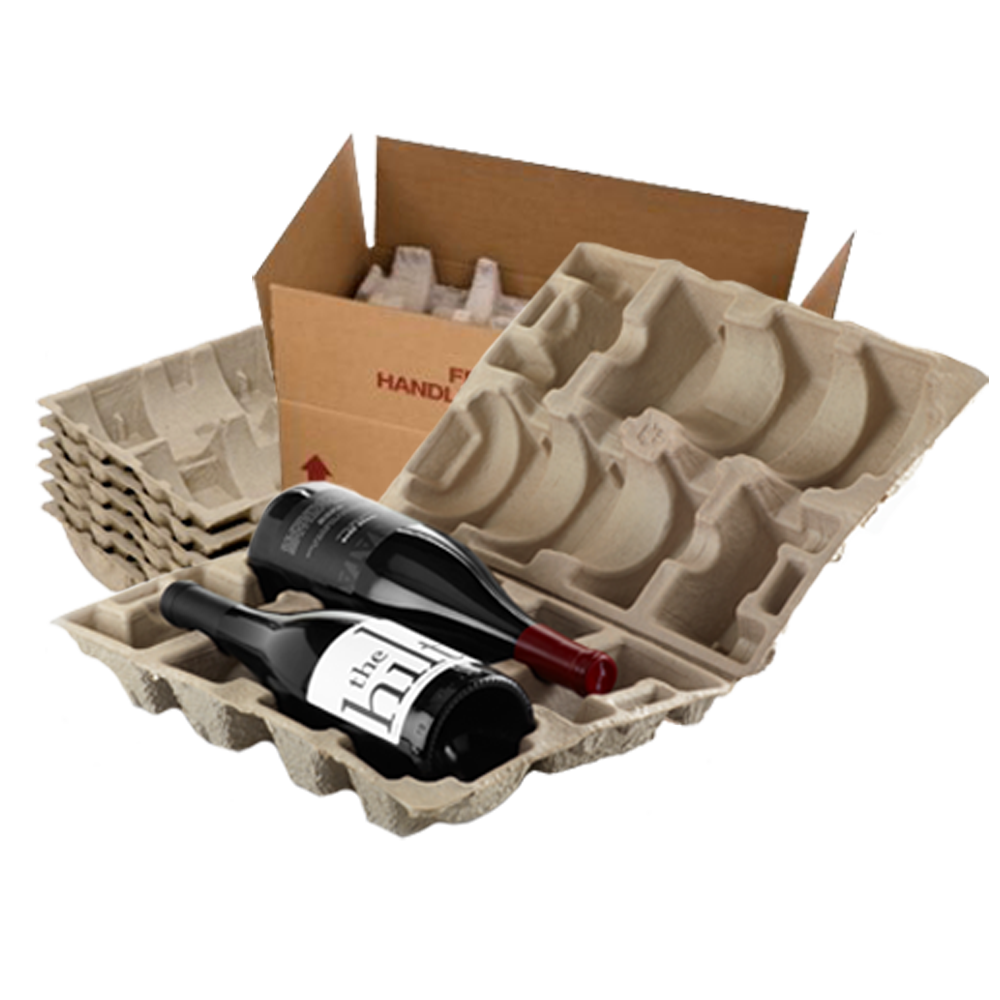 2 Bottle Wine Shipper Kit - Makes 15 Kits
