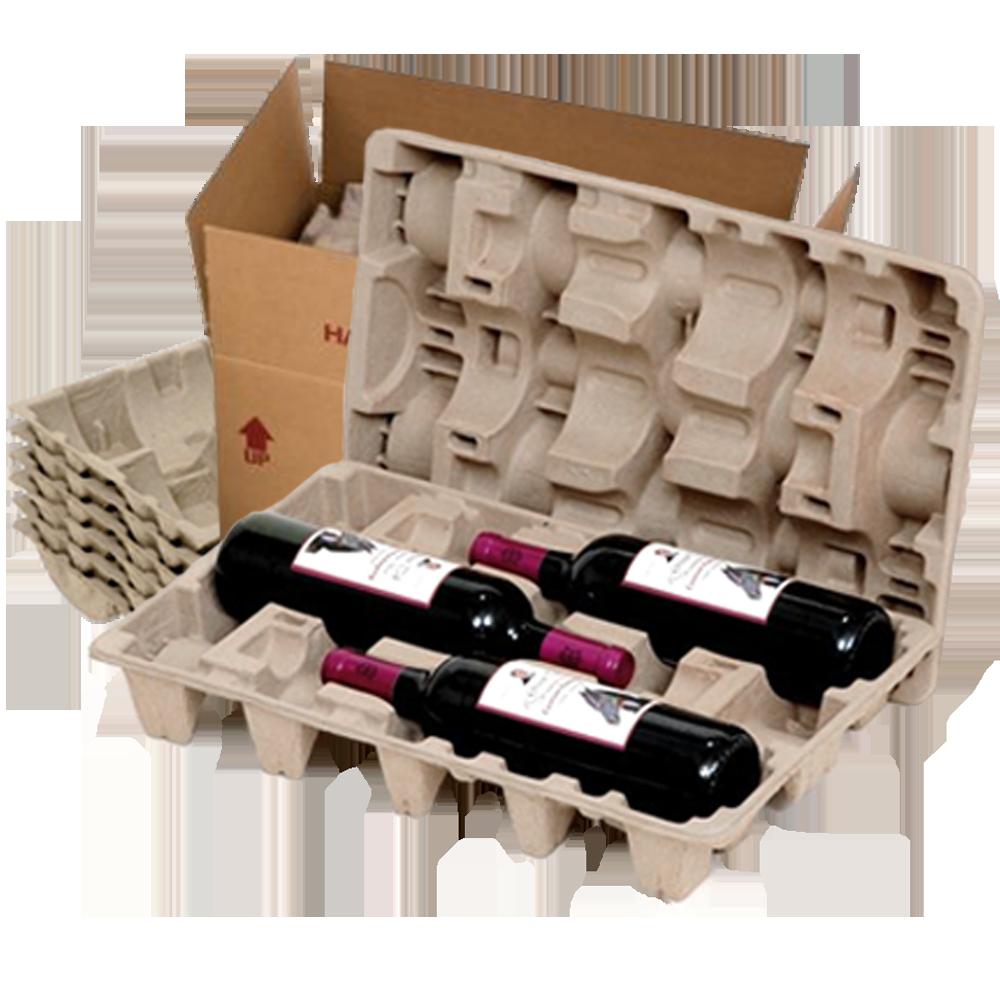 3 Bottle Wine Shipper Kit - Makes 10 Kits