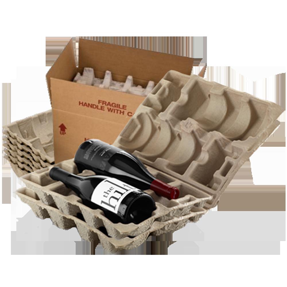 4 Bottle Wine Shipper Kit - Makes 10 Kits
