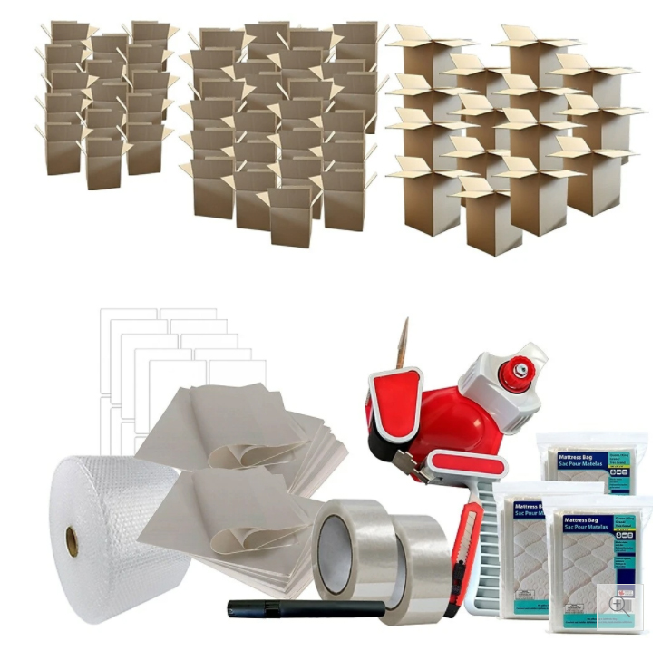 Moving Kit - Home - Ideal For a 2-3 Bedroom House