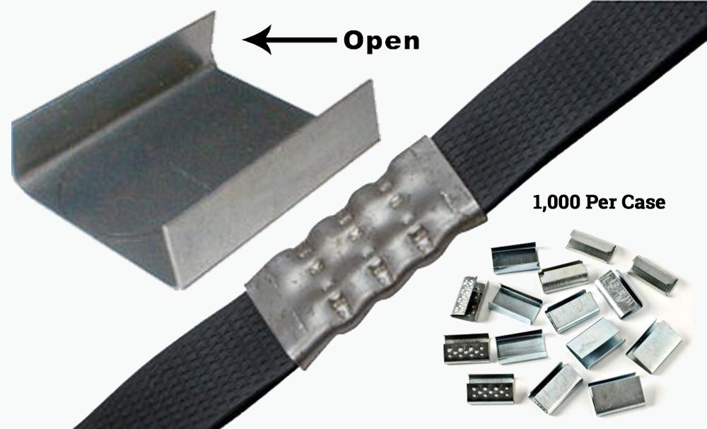 """1/2"""" STEEL OPEN SEALS (1000 / CS)"""