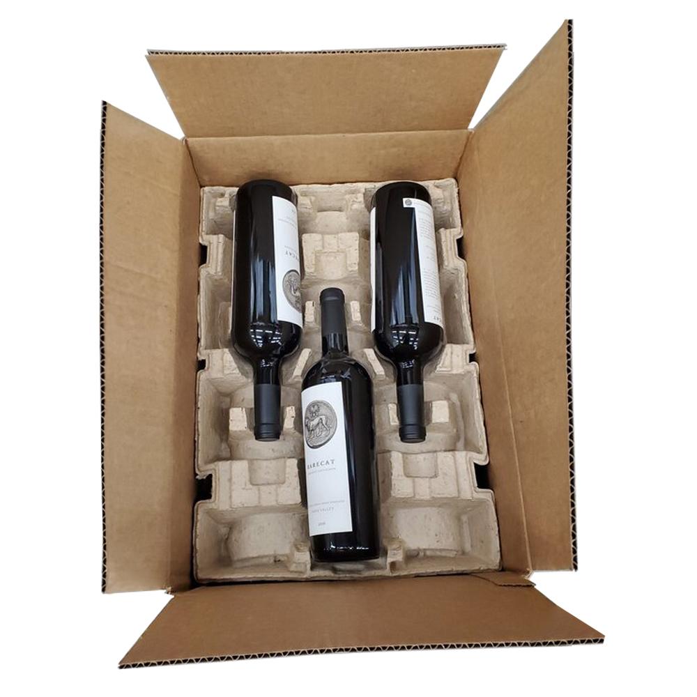 9 Pack Wine Shipper Box