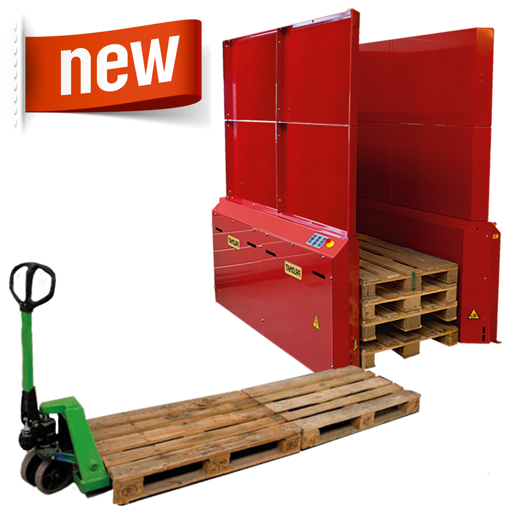 Palomat Double Up - Stacking and Destacking Of 1 + 1 Pallet - 152501