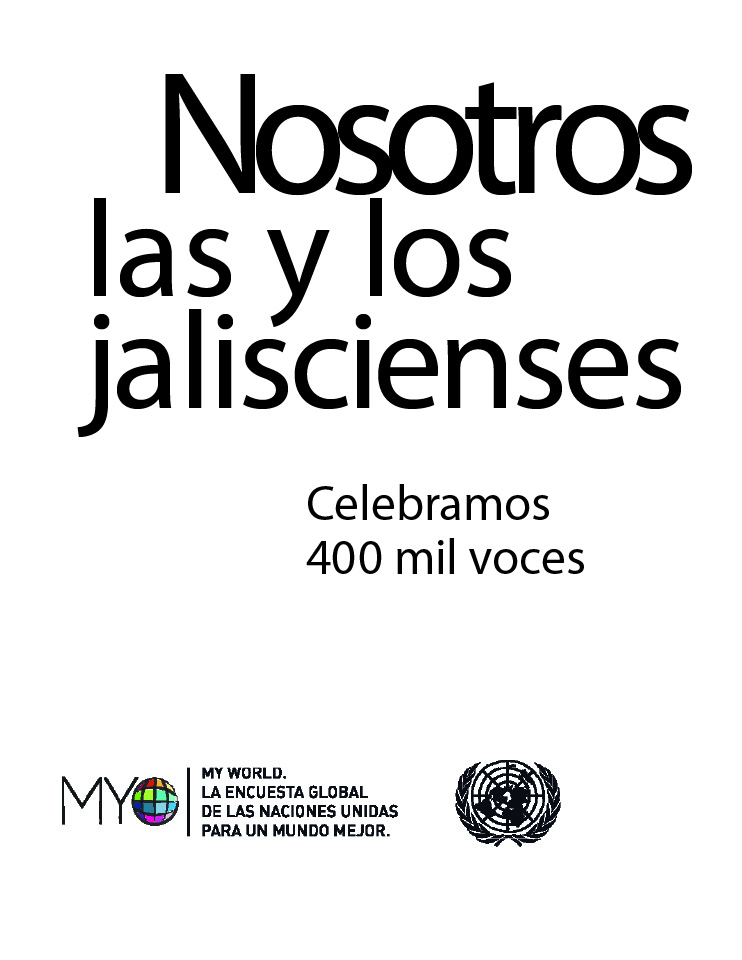 Nosotros las y los jaliscienses: Celebramos 400 mil voces