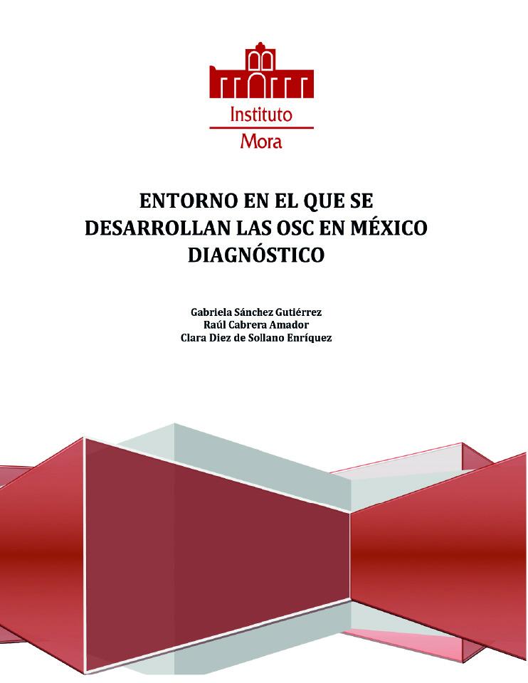 Entorno en el que se desarrollan las OSC en México diagnóstico