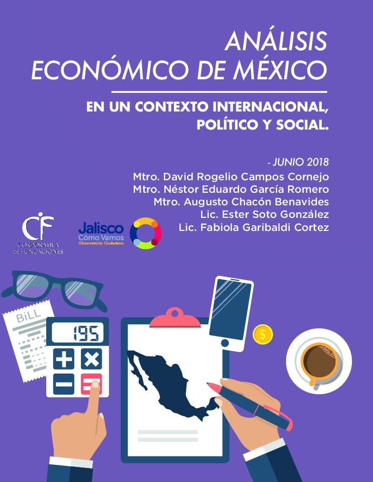 Análisis económico de México en un contexto internacional, político y social