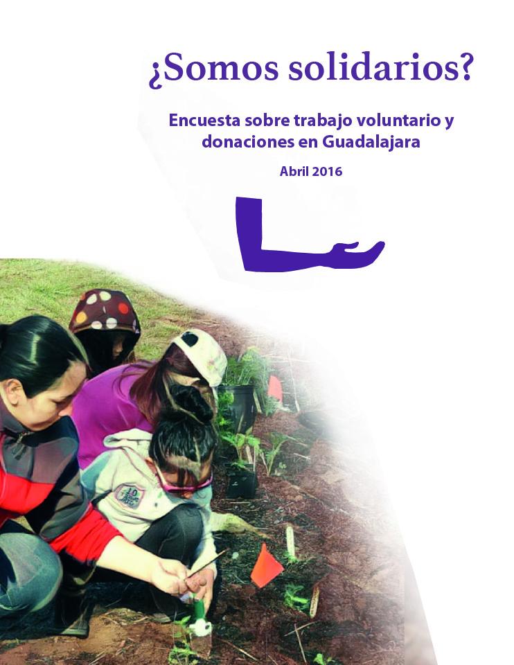 ¿Somos solidarios? Encuesta sobre trabajo voluntario y donaciones en Guadalajara