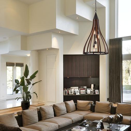 Living room with CLA Khaleesi pendant