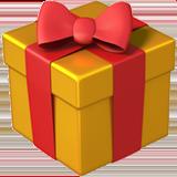 Een icoontje voor relatiegeschenken in de vorm van een geschenk