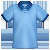Een icoon voor bedrijfskleding in de vorm van een polo
