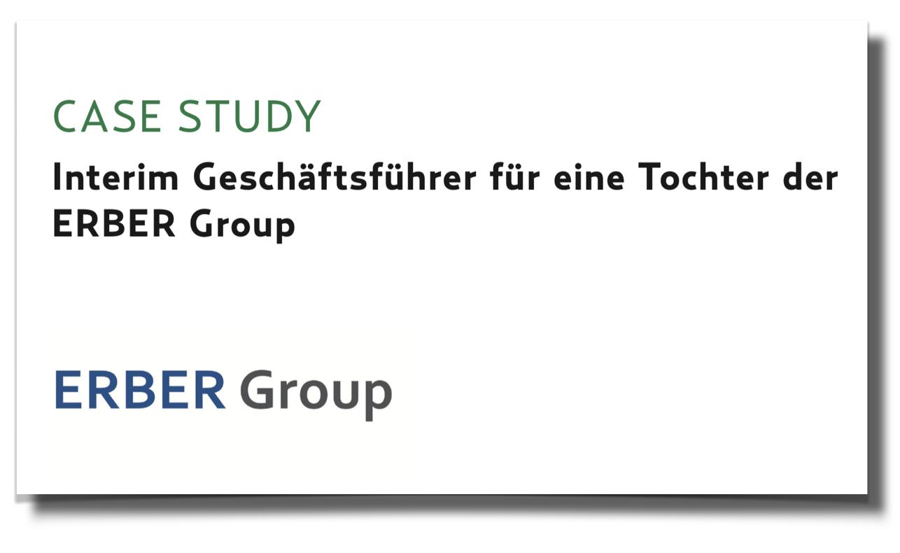 Case Study - ERBER Group