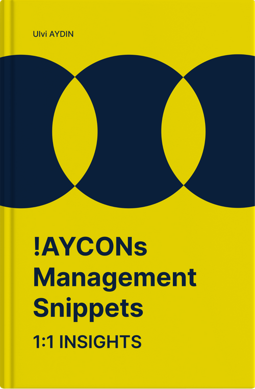 !AYCONs Management Snippets 1:1 Insights