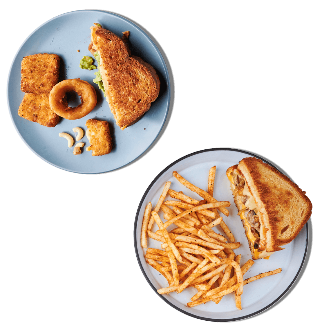 Grilled Cheese Society Menu items spread