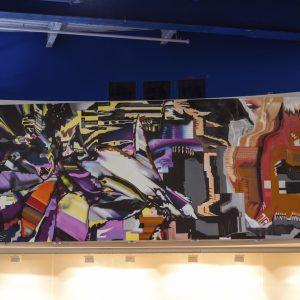 Askew One Graffiti-style Mural