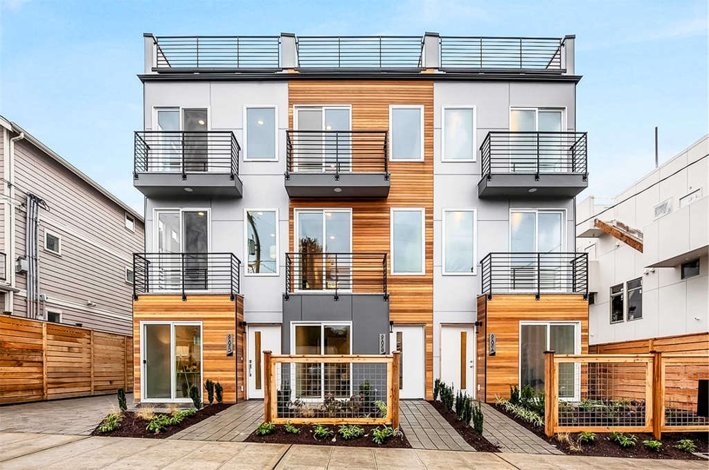 Urban Living in Environmentally-Sound Townhomes