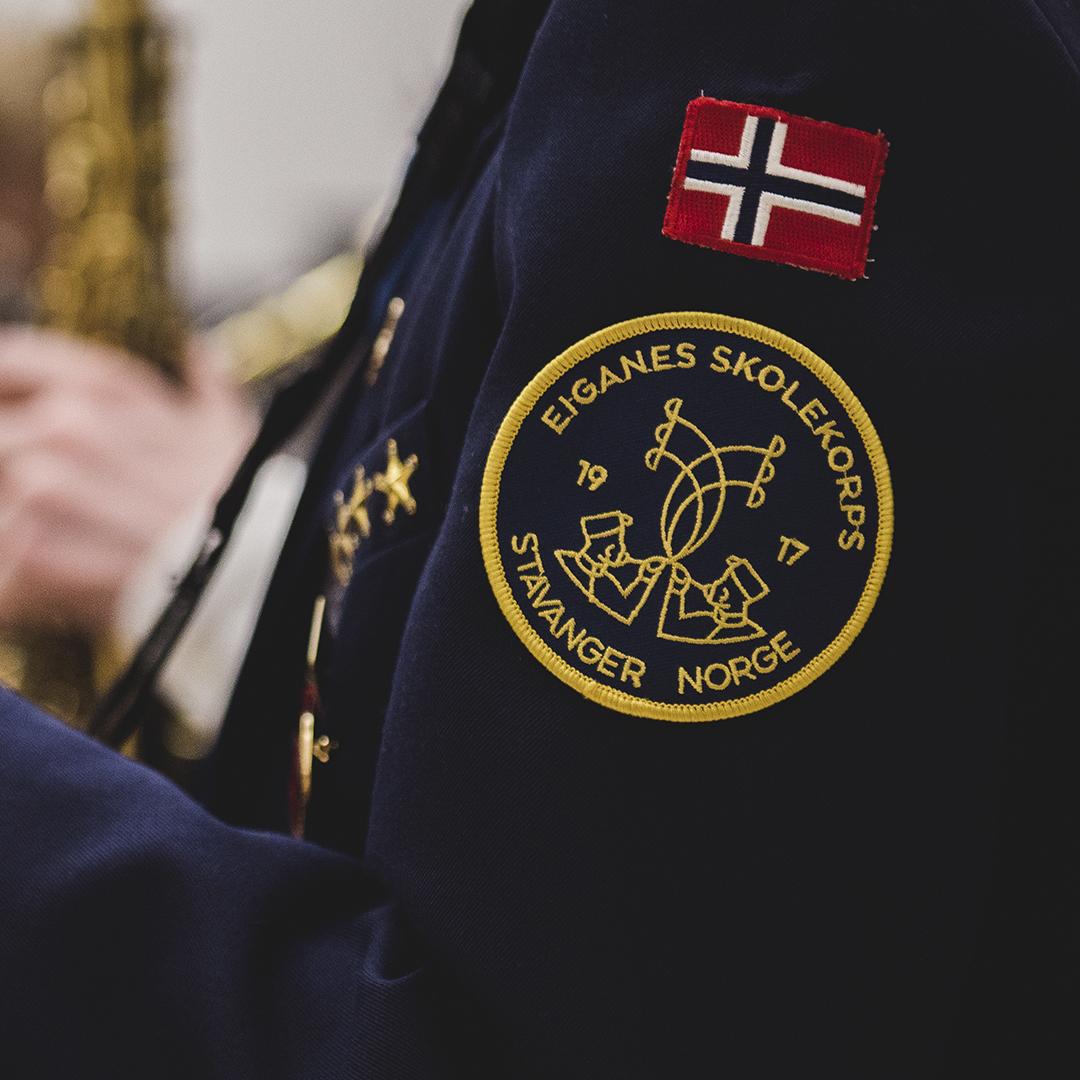 Eiganes Skolekorps Logo, Jakke