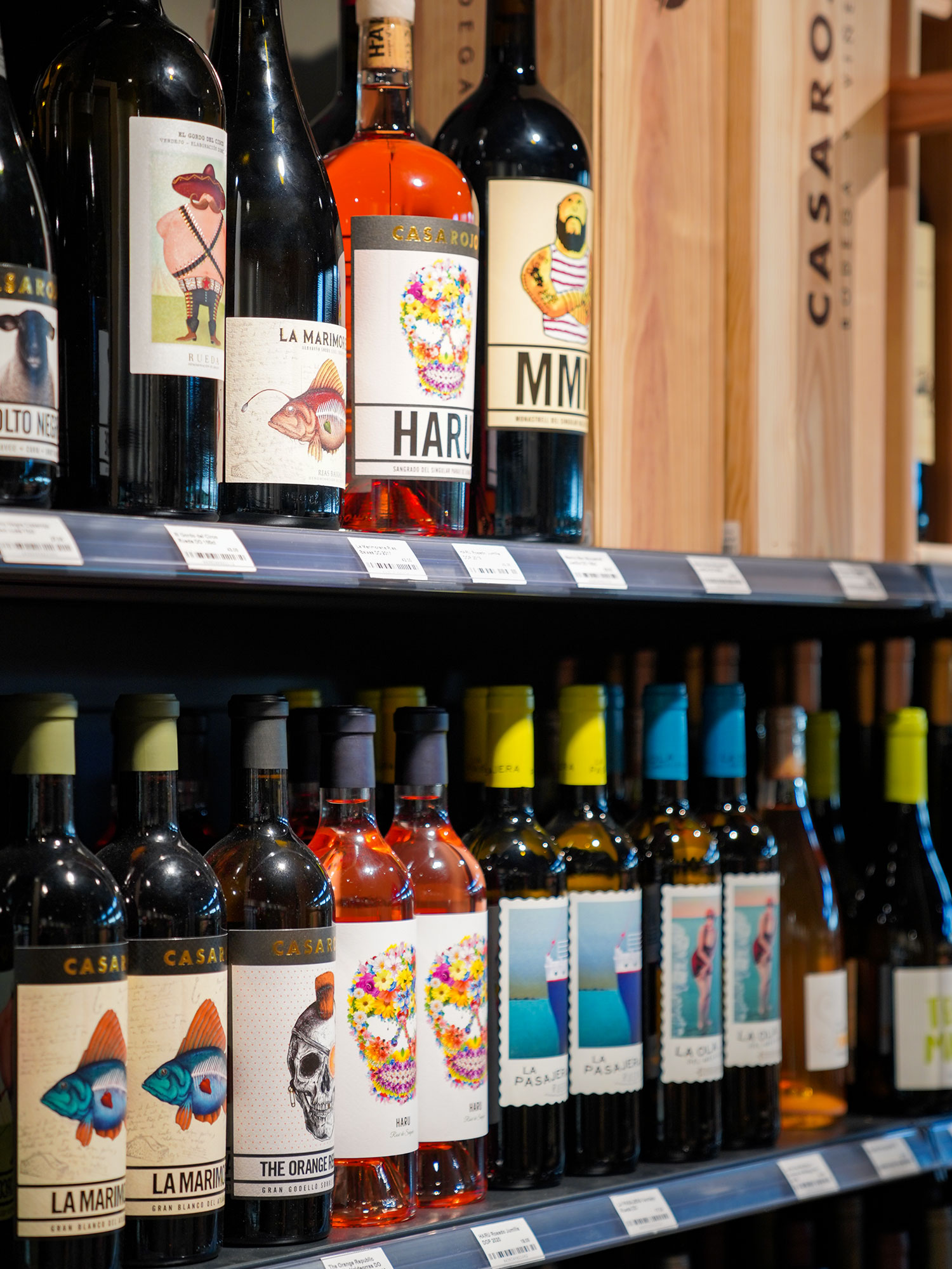 Unser schönes Weinsortiment