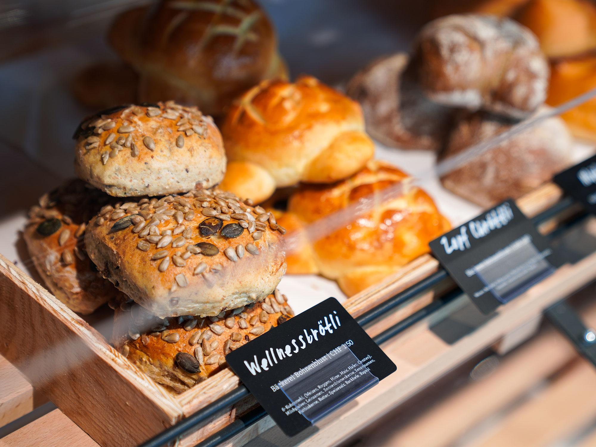 Brot- und Gebäckauswahl